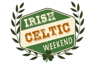 Irish Celtic Weekend Logo